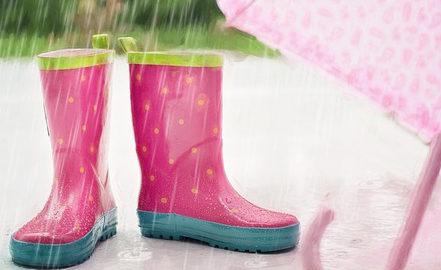 zabawy na deszcz