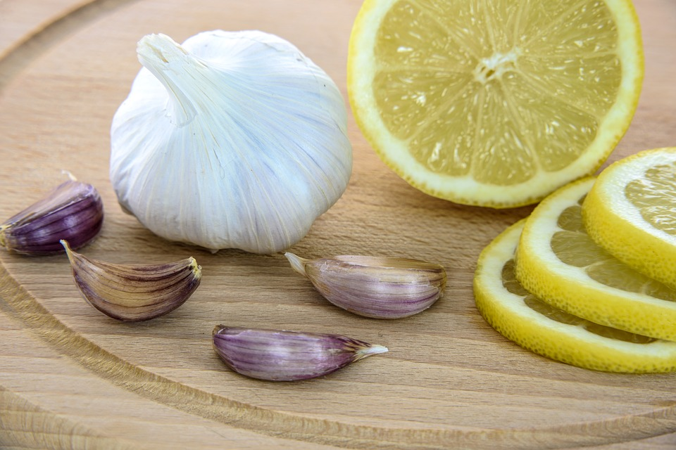 cytryna i czostnek