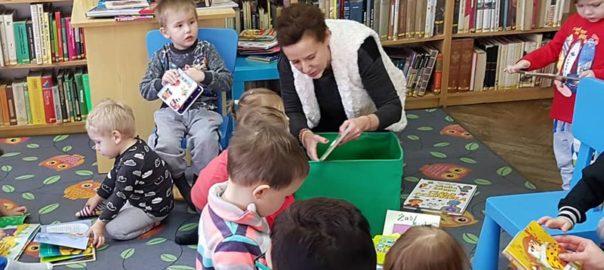 Czy warto chodzić z dzieckiem do Biblioteki?