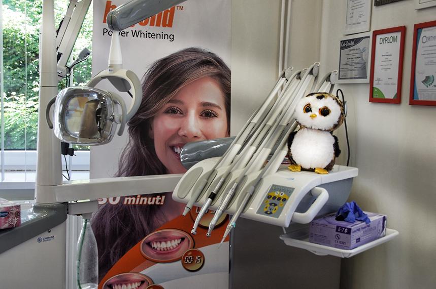 wizyta dziecka w gabinecie stomatologicznym